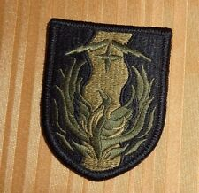 ARMY PATCH,36TH SUSTAINMENT BRIGADE  ,MULTI-CAM,SCORPION, WITH VELCRO