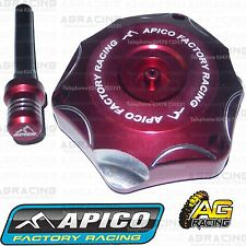 Apico Red Alloy Fuel Cap Breather Pipe For Honda CRF 70 2011 Motocross Enduro