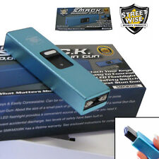 Streetwise Mini Keychain SMACK 20,000,000 Volt Stun Gun World's Smallest - Blue