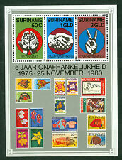 Suriname Surinam 1980, 5th Anniversary of Independence S.Sheet SG MS1032 MNH 301
