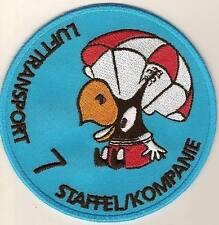 Swiss Air Force Badge Old LT Sqad 7
