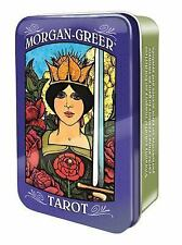 Morgan-Greer Tarot in a Tin by Bill Greer (2015, Merchandise, Other)