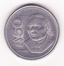 Estados Unidos Mexicanos $50 Coin 1988 !