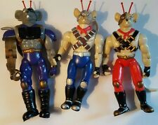 Biker Mice From Mars Figures, Toys, 5""