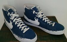NEW Nike 2009 Jackie Robinson BROOKLYN High Tops Athletic Shoes Men's 13 Bl