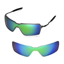 New WL Polarized Emerald Replacement Lenses For Oakley Probation Sunglasses