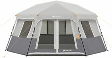 8-Person Instant Hexagon Cabin Tent Ozark Trail Easy 2 minute setup camping