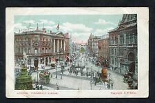 View of Picadilly Circus, Stamp/Postmark - 1907.