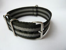 18 20 22 mm Adults 007 SPECTRE JAMES BOND NATO WATCH STRAP BAND.SEAMASTER Props