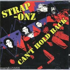 Strap-Onz - Can't Hold Back CD - Charged Records 015