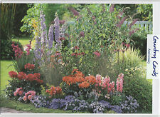 GREETING CARD - HAPPY ANNIVERSARY - FLOWER BED - Photo by Friedrich Strauss