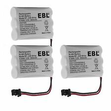 3x 3.6V 800mAh Cordless Phone Battery for Uniden BT-446 BP-446 BT-1005 ER-P512