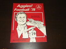 1978 AGGIES NEW MEXICO STATE  COLLEGE FOOTBALL PRESS GUIDE