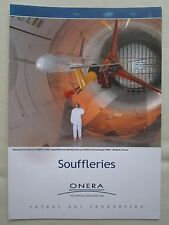 DEPLIANT ONERA AEROSPACE LABORATORY SOUFFLERIE TRANSSONIQUE WIND TUNNEL MODANE