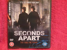 Seconds Apart (DVD, 2011) Two Times The Terror - Brand new/factory sealed!!