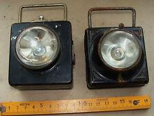 2x Taschenlampe  DAIMON  - 1915-1945