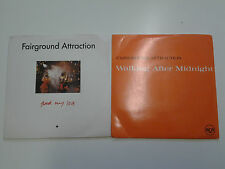 "Set of 2 x Fairground Attraction 7"" Vinyl singles - Find My Love / Walking After"