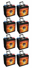 6Volt Golf Cart Batteries QTY8, 48V AGM 6 Volt 235AH VMAX XTR6 Maint free 6V
