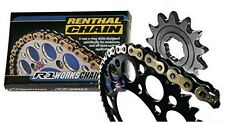 New 48 T / 13 T  Renthal Black Chain/Sprocket Kit CRF 450 R 04-15 CR 250 90-07