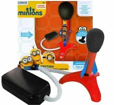 DESPICABLE ME MINIONS GAME - AIR BLAST STOMP ROCKET - SPACE LAUNCHER TOY 28-0136