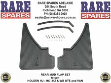 Holden HJ HX HZ WB Ute Van Rear Mud Flaps Rare Spares Adelaide