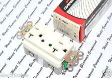 1pcs-COOPER 5350WS TVSS with LED Indicators Receptacle 20A-125V NEMA 5-20