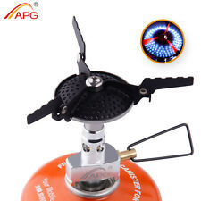 Camping Propane Stove Best Anti-scald Small Outdoor Gas Burners Cookware New APG