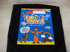 NEW Doodle Bible,2013, includes activities & doodles 40+ pages, 5 doodle markers