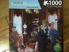 NEW SUSAN BRABEAU - 1,000 PIECE PUZZLE - GIRLS IN THE BAND