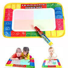 Multi Color Kids Water Writing Painting Mat Board Drawing Magic Pen Toys Gift