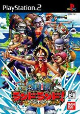 Used PS2 From TV Animation One Piece: Round the Land! Japan Import、