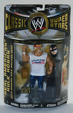 WWE FIGURE HULK HOGAN JAKKS CLASSIC WRESTLEMANIA MAIL AWAY WWF 2 IN 1 LTD EDN