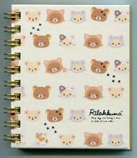 San-X Rilakkuma Relax Bear Spiral Notebook Memo #37 (Cat)