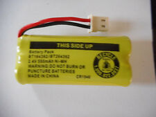 NEW cordless PHONE battery PACK 2.4V 550mAh Ni-MH for VTech CLARITY G.E. AT&T...