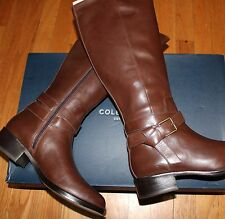 $398 COLE HAAN CHESTNUT BRIARCLIFF LEATHER BOOT SZ 10C