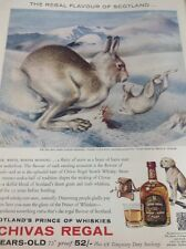 Ephemera 1962 Advert Chivas Regal The Flavour Of Scotland Whiskies M485