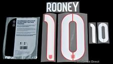 England Rooney 10 2014/15 Away Football Shirt Name/Number Set Sporting ID