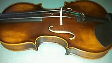 Old Italian Style Concert Violin 4/4 Stradivarius copy Listen to Sound!!