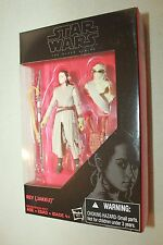 "Rey Jakku Figure Star Wars Black Series 3.75"" The Force Awakens Walmart Ex"