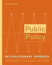 Public Policy: An Evolutionary Approach by Stewart, Jr.  Joseph, Hedge, David M