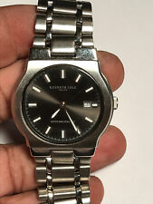 Nice Men's Silver Tone Kenneth Cole KC3170 Analog Watch With Date Feature