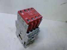 ALLEN BRADLEY SAFETY CONTACTOR 100S-C16DJ14C- 3 Pole 24DC coil 7.5Kw w/Aux