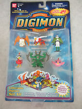 Digimon Season 2 ~ Digimon Set XII ~ Action Figure Set Sealed 1997 Bandai