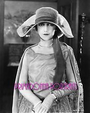 JETTA GOUDAL 8x10 Lab B&W Photo HIGH FASHION DIVINE SILENT ERA GLAMOUR PORTRAIT