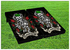 VINYL WRAPS El Mariachi Fans Cornhole Boards DECALS BagToss Game Stickers 552