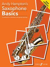 Saxofón Basics alumnos Instrumental Solo aprender a tocar canciones Faber música Libro