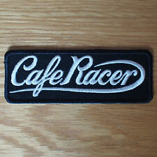 Motorcycle Biker Rocker Greaser Cloth Patch Leathers Cut Off Denim CAFE RACER