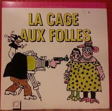 LA CAGE AUX FOLLES The Criterion Collection Laser Disc (MGM/UA 1992) French VG
