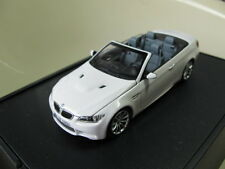 1/43 Minichamps BMW M3 E92 Cabriolet diecast (dealer version)