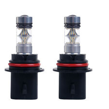 2x 9004 100W White Fog Driving Running Light 20LED Bulbs Headlight High Power US